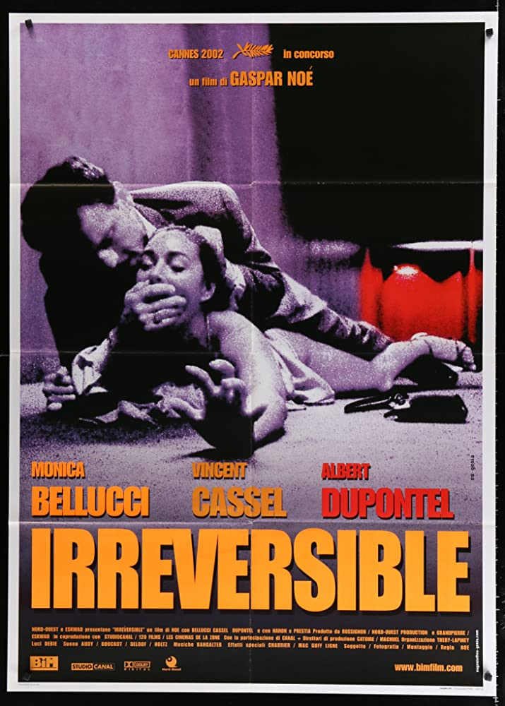18+ Irréversible (2002) UNRATED BluRay 720p (In French) English Subs