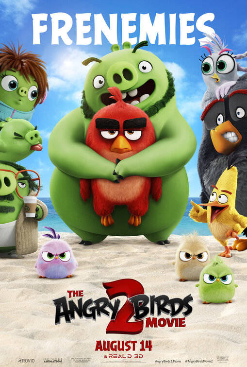 The Angry Birds Movie 2 2019 English 480p HDCAM 400MB