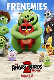 Bill Hader, Jason Sudeikis, Danny McBride, Sterling K. Brown, Josh Gad, Rachel Bloom, Awkwafina, and Brooklynn Prince in The Angry Birds Movie 2 (2019)