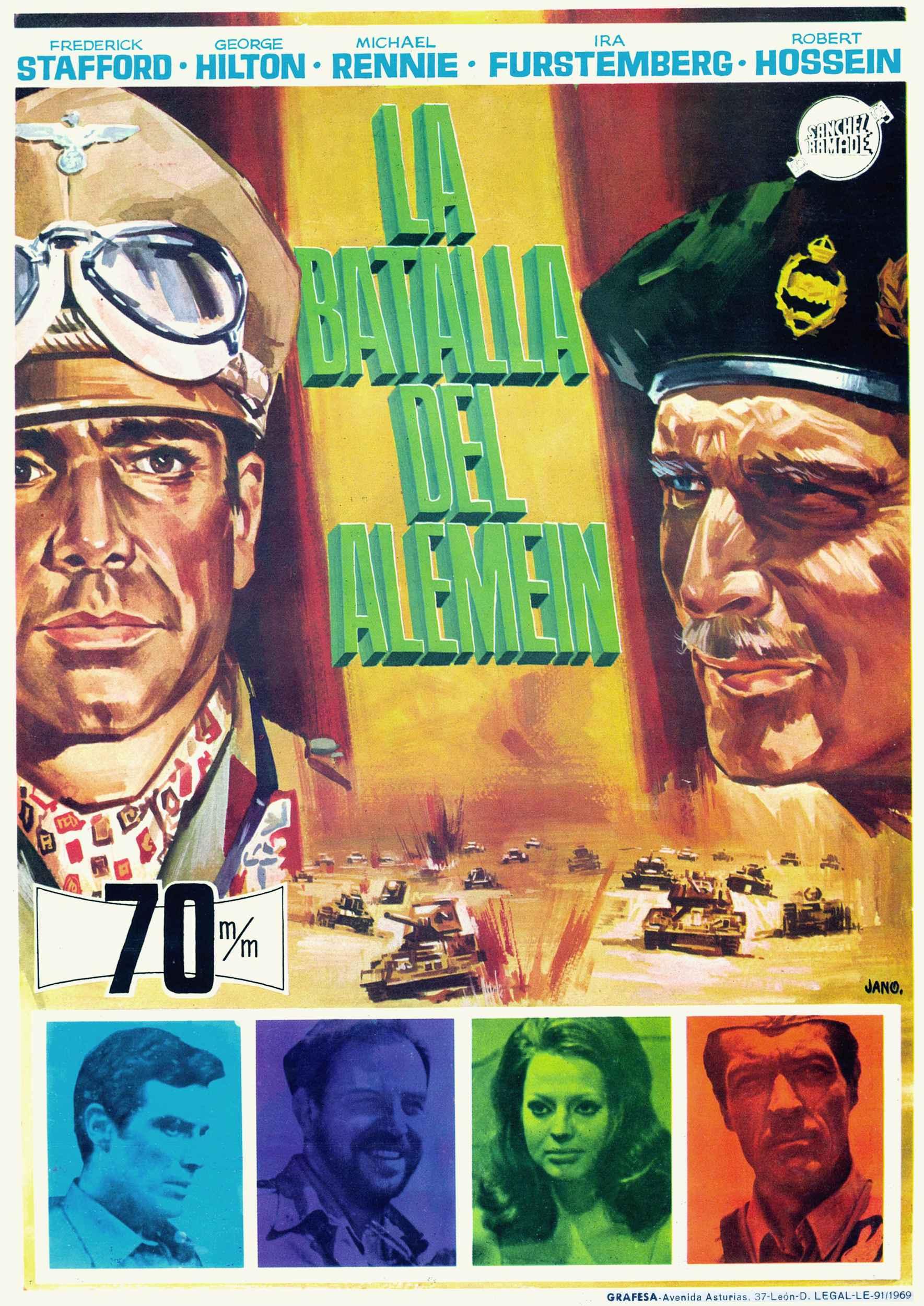 la bataille del alamein film