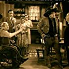 Lionel Barrymore, Wallace Beery, Tom Conway, Laraine Day, Chris-Pin Martin, Henry Travers, and Nydia Westman in The Bad Man (1941)