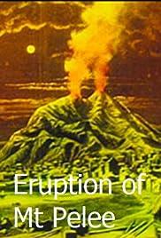 Éruption volcanique à la Martinique Poster