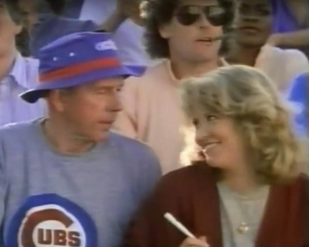 Nancy Allen, Jonathan D. Krane, and Rance Howard in Limit Up (1989)