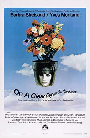 On a Clear Day You Can See Forever Poster Image