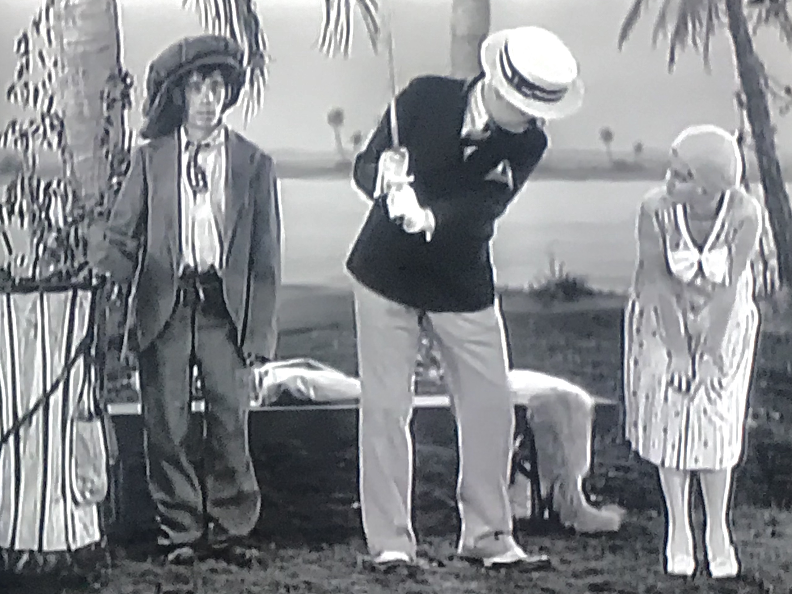 W.C. Fields, Shirley Grey, and Allen Wood in The Golf Specialist (1930)
