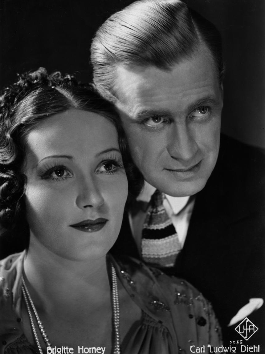Karl Ludwig Diehl and Brigitte Horney in Der grüne Domino (1935)