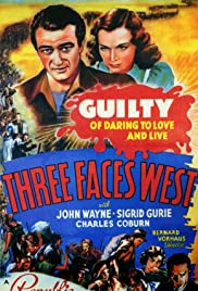 Three Faces West Poster