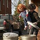 Brad Dourif and Zackary Arthur in Chucky (2021)
