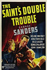 The Saint's Double Trouble Poster