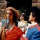 Filip Blazek and Jan Preucil in Nesmrtelná teta (1993)