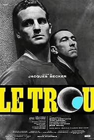 Philippe Leroy, Michel Constantin, Jean Keraudy, Raymond Meunier, and Marc Michel in Le trou (1960)