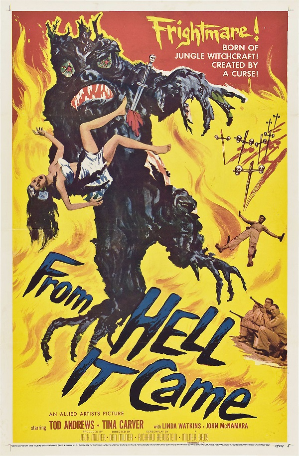 From Hell It Came 1957