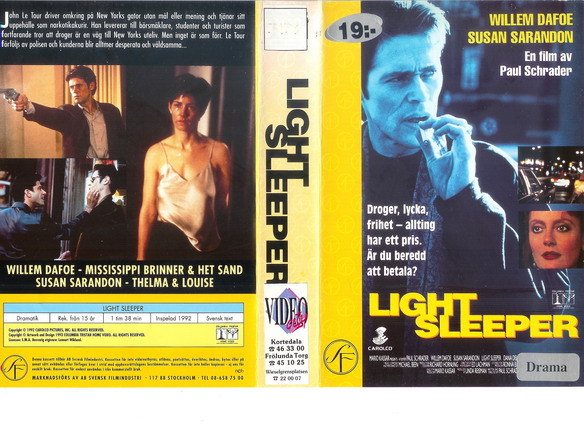 light sleeper 1992 movie light sleeper 1992 yify