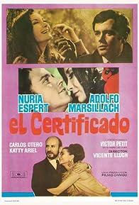 Primary photo for El certificado