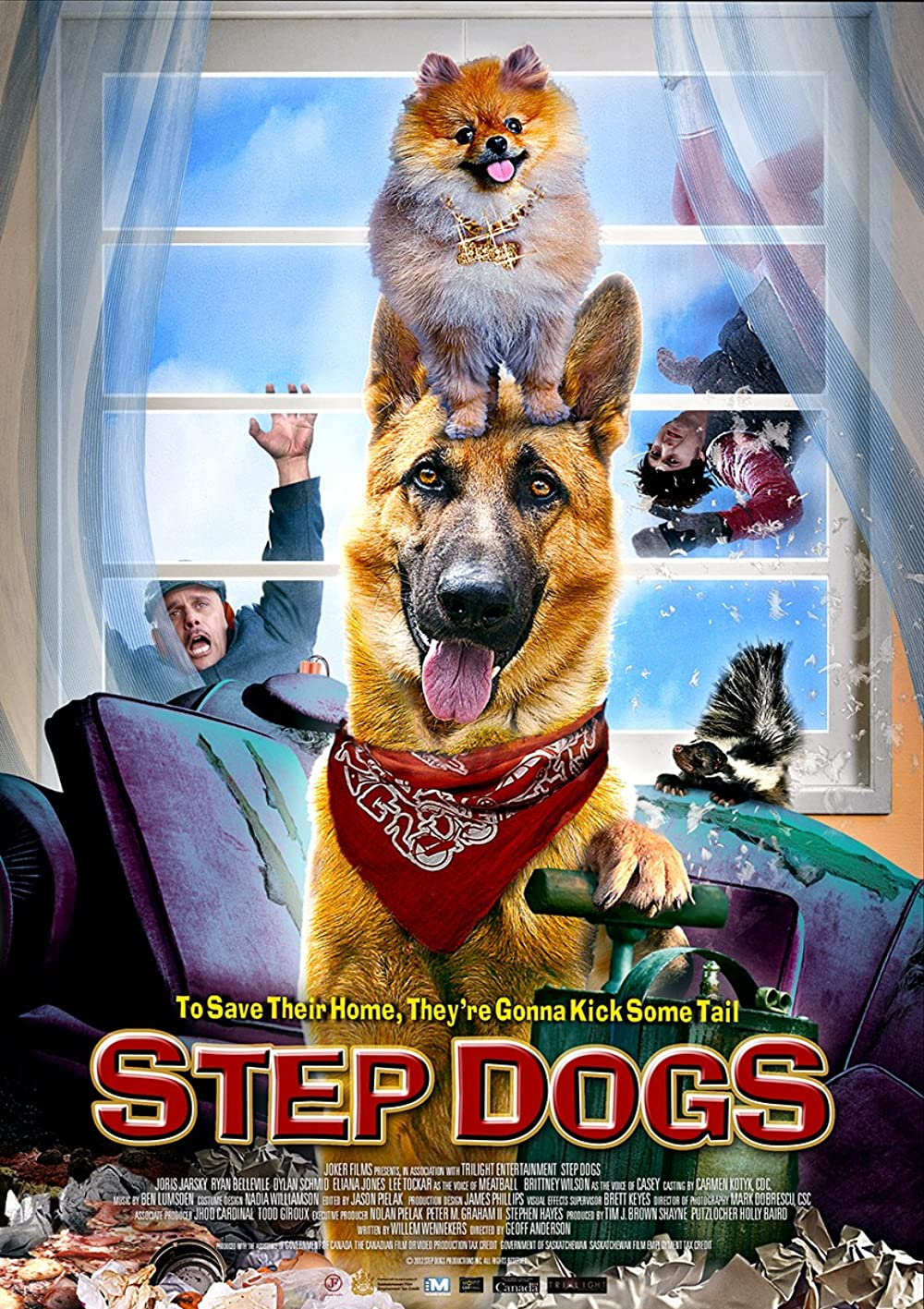 Step Dogs 2013 Dual Audio Hindi 300MB HDRip Download
