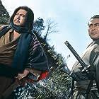 Toshirô Mifune and Shintarô Katsu in Machibuse (1970)