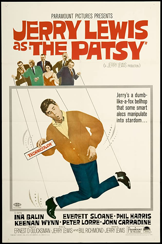 Peter Lorre, Ina Balin, John Carradine, Jerry Lewis, Phil Harris, Everett Sloane, and Keenan Wynn in The Patsy (1964)