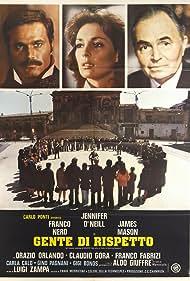 James Mason, Franco Nero, and Jennifer O'Neill in Gente di rispetto (1975)