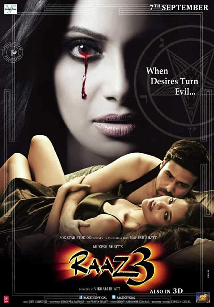 Raaz 3: The Third Dimension (2012) Hindi 720p HEVC HDRip x265 ESubs [650MB] Full Bollywood Movie