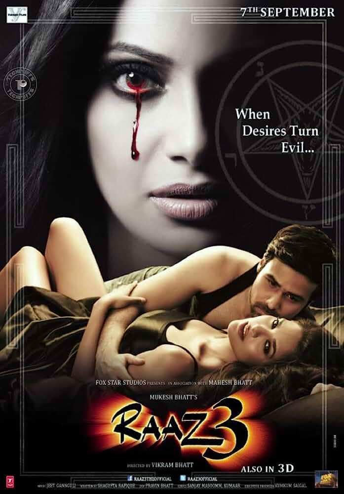 Raaz 3: The Third Dimension (2012) Hindi 720p HEVC HDRip x265 ESubs [650MB] Full Bollywood Movie