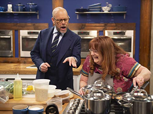 Alton Brown and Jolynn Singh in Bottom's Up (2020)