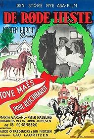 Tove Maës and Poul Reichhardt in De røde heste (1950)