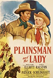Plainsman and the Lady Poster