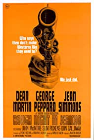 Rough Night in Jericho (1967) Poster - Movie Forum, Cast, Reviews