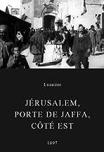 Jérusalem, porte de Jaffa, côté Est