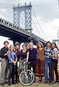 Jill Clayburgh, Tate Donovan, Kim Raver, Charlotte Ross, Louis Ferreira, Bonnie Root, John Spencer, and Sam Trammell in Trinity (1998)