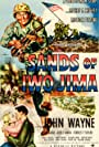 John Wayne, John Agar, and Adele Mara in Sands of Iwo Jima (1949)
