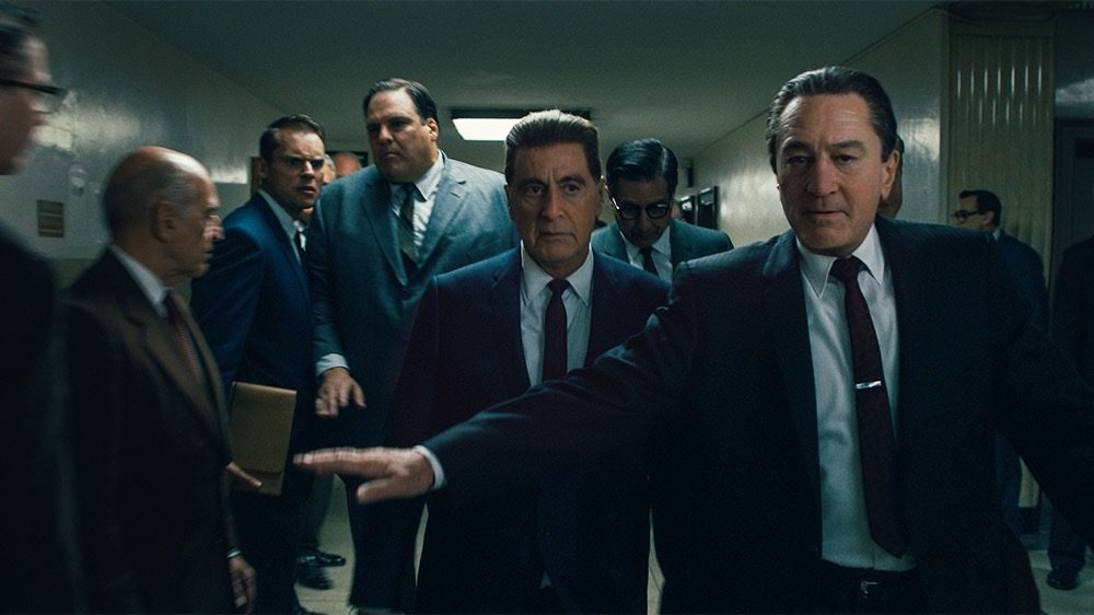 Robert De Niro, Al Pacino, Ray Romano, and Craig Vincent in The Irishman (2019)