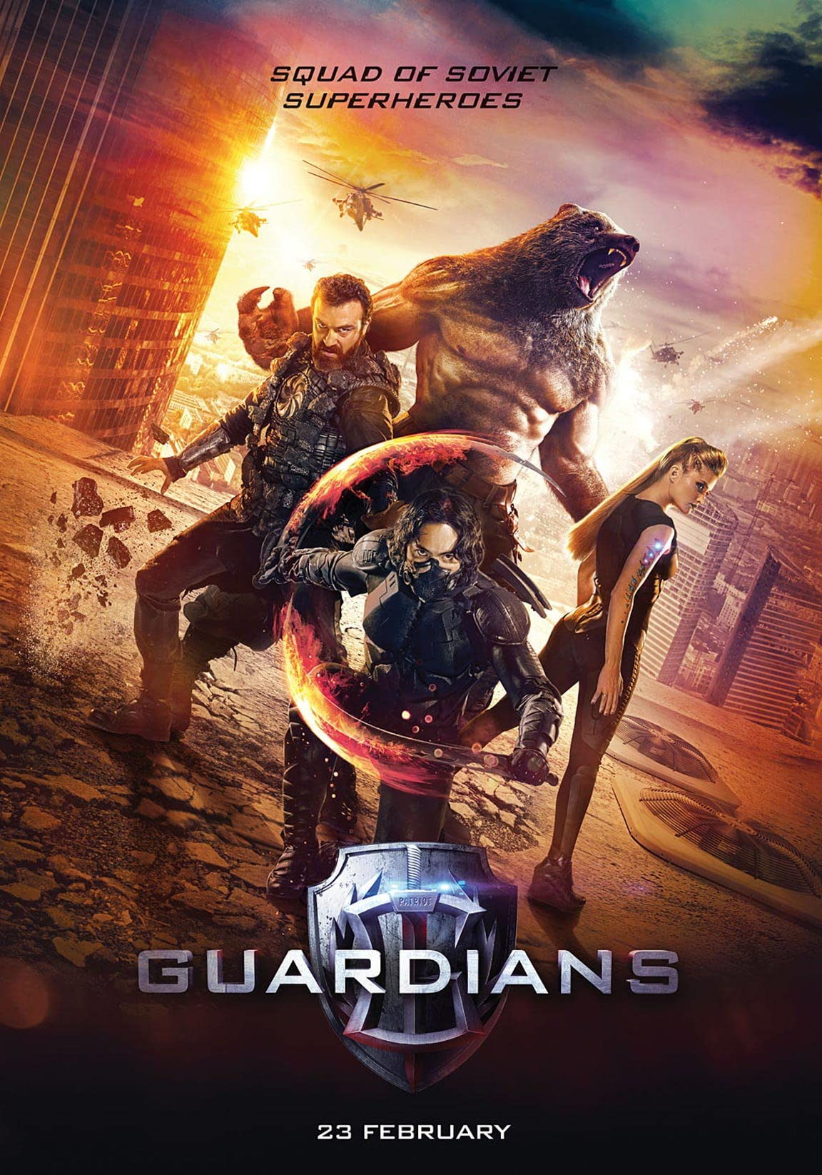 The Guardians (2017) Hindi Dubbed