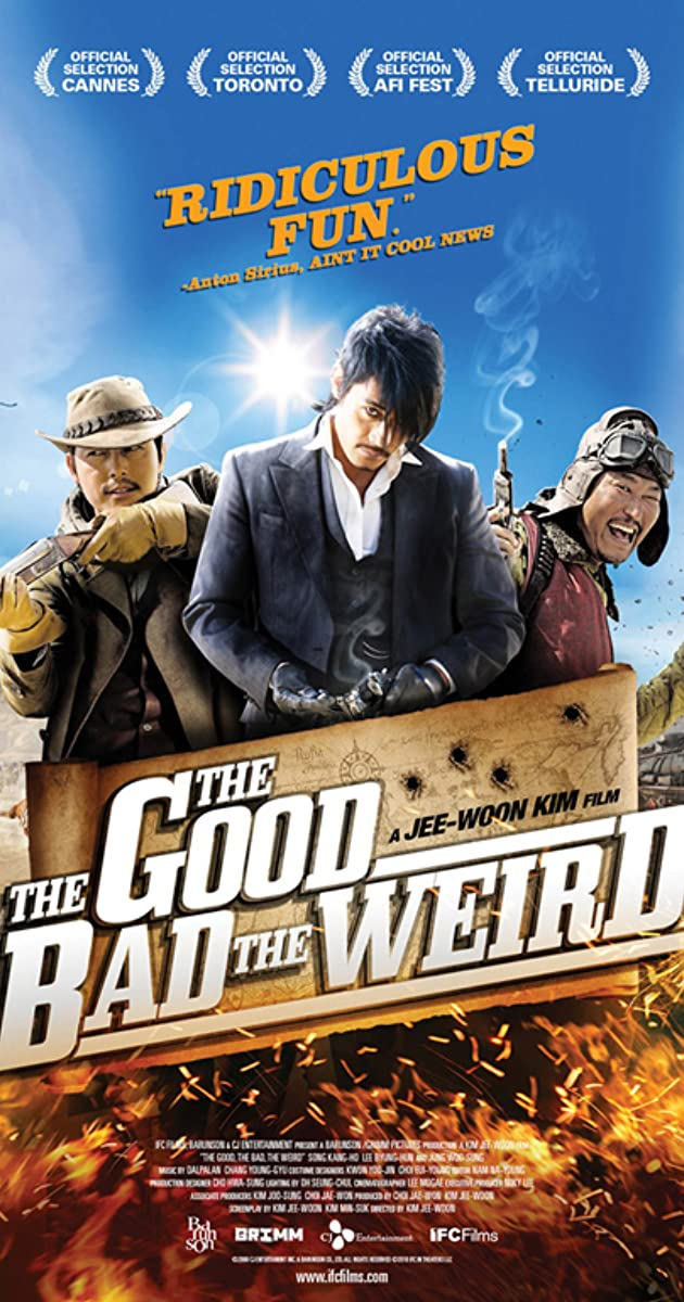 Subtitle of The Good the Bad the Weird