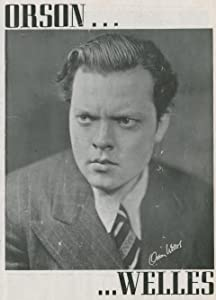 Movie Store new release Orson Welles' Sketch Book by Orson Welles [movie]