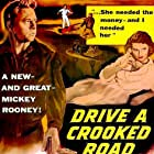 Mickey Rooney and Dianne Foster in Drive a Crooked Road (1954)