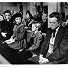 Anne Bancroft, Van Heflin, Richard Boone, and Tommy Rettig in The Raid (1954)