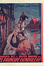 Rosita Moreno and Roberto Rey in El príncipe gondolero (1931)