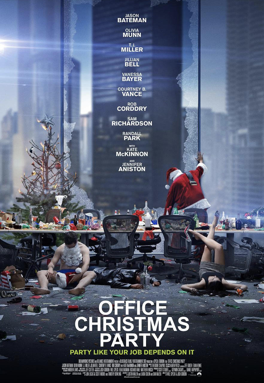 watch office christmas party movie free online