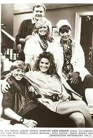 Bill Daily, Heidi Helmer, Jason Marin, Connie Stevens, and Nita Talbot in Starting from Scratch (1988)