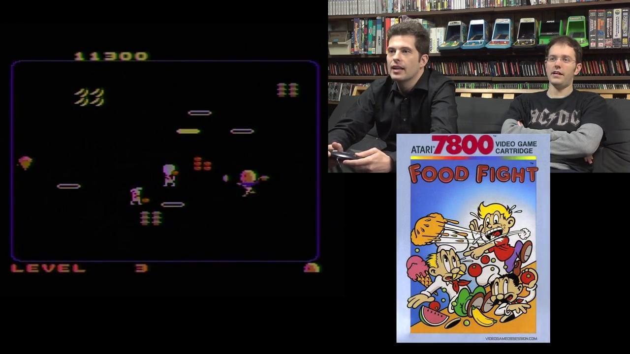 food fight atari