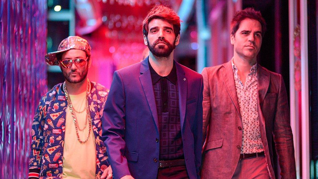 Ernesto Sevilla, Carlos Santos, and David Verdaguer in Lo dejo cuando quiera (2019)