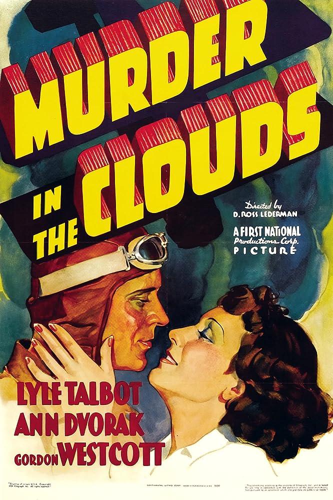 Ann Dvorak and Lyle Talbot in Murder in the Clouds (1934)