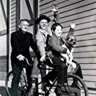 Spencer Tracy, Mickey Rooney, and Bobs Watson in Men of Boys Town (1941)