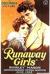 Shirley Mason and Arthur Rankin in Runaway Girls (1928)