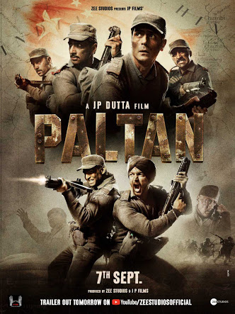Paltan (2018) Hindi WEB-HDRip – 480P | 720P – x264 – 425MB | 1.2GB Download