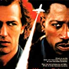 Wesley Snipes and Bruce Payne in Passenger 57 (1992)