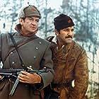 Rod Taylor and Velimir 'Bata' Zivojinovic in Partizani (1974)
