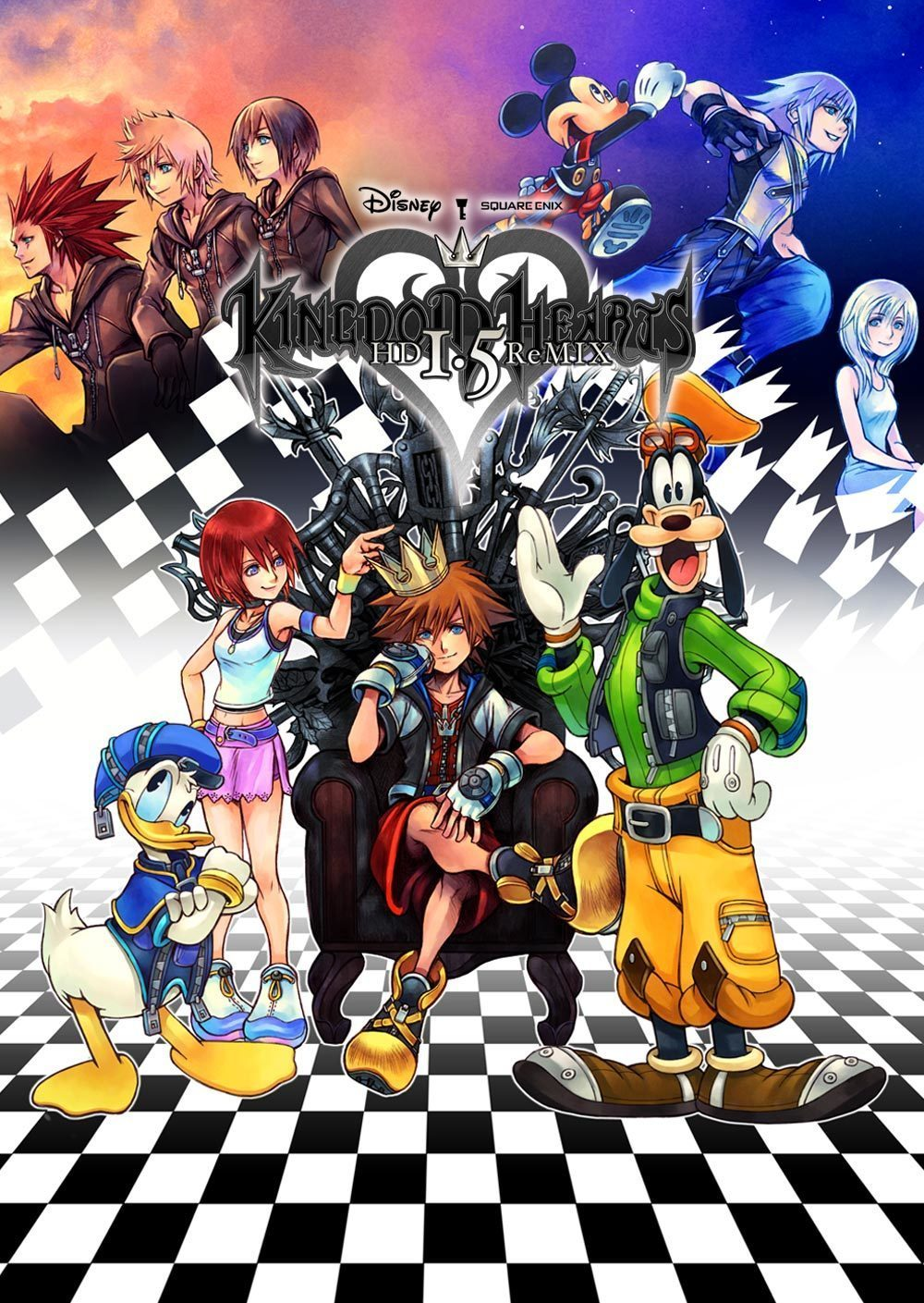 Kingdom Hearts HD 1.5 Remix (Video Game 2013) - IMDb
