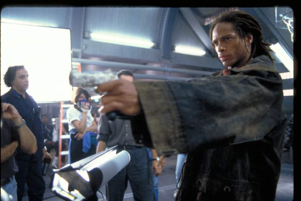 Gary Dourdan in Alien: Resurrection (1997)